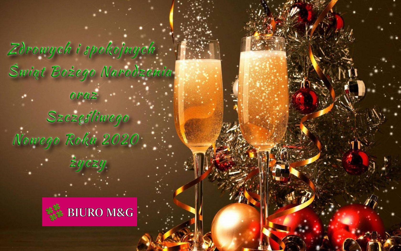Życzenia świąteczne od BIURM M&G